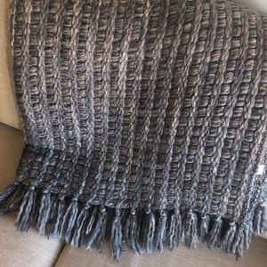 Wool Throw Blanket